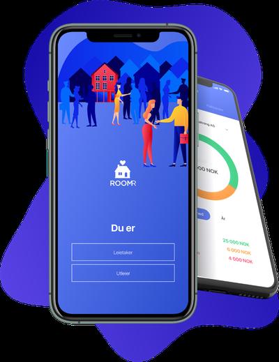 Et bilde av appen