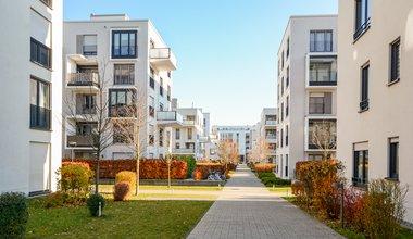 moderne leilighetsbygg