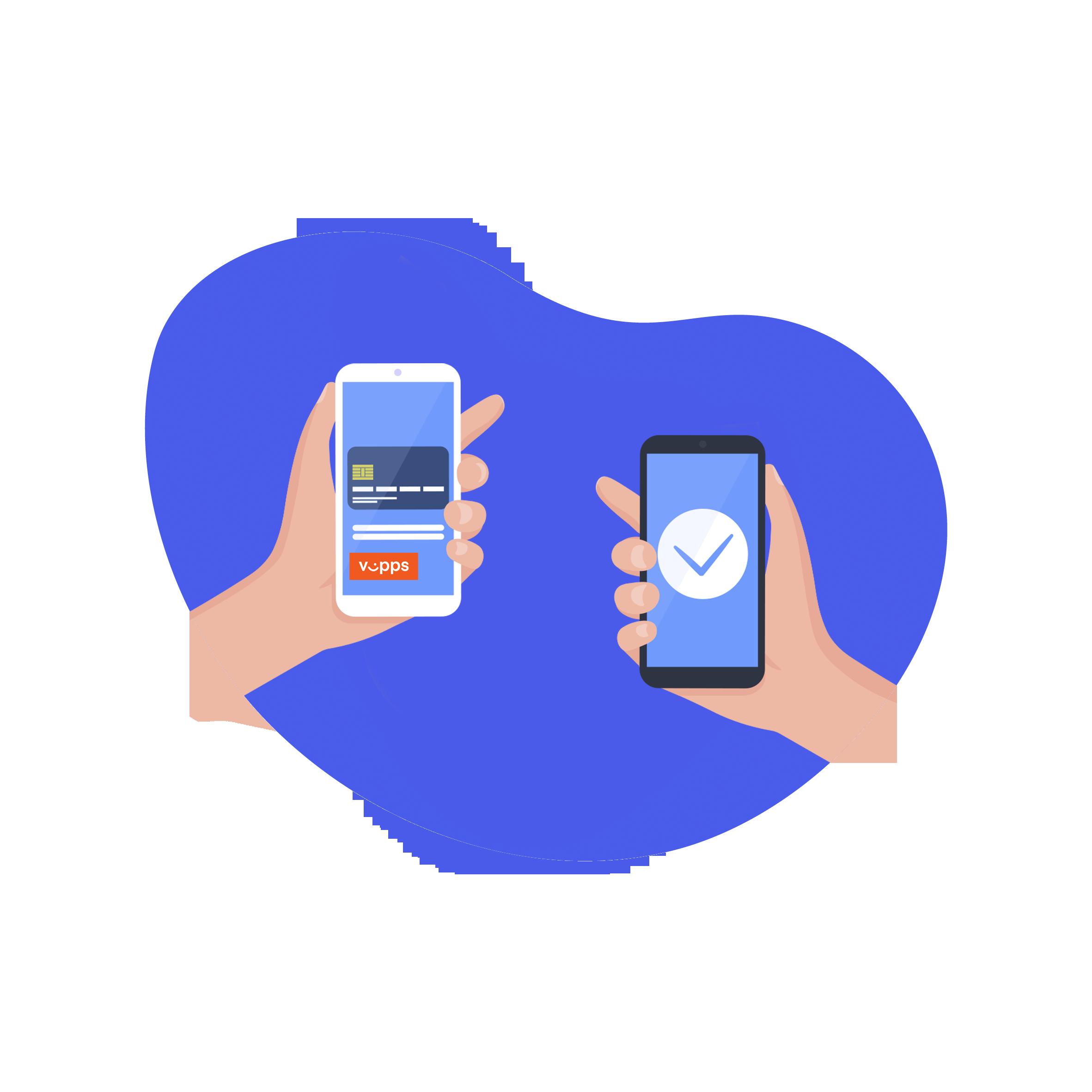 I ROOMR-appen får leietaker beskjed om at depositumet kan betales