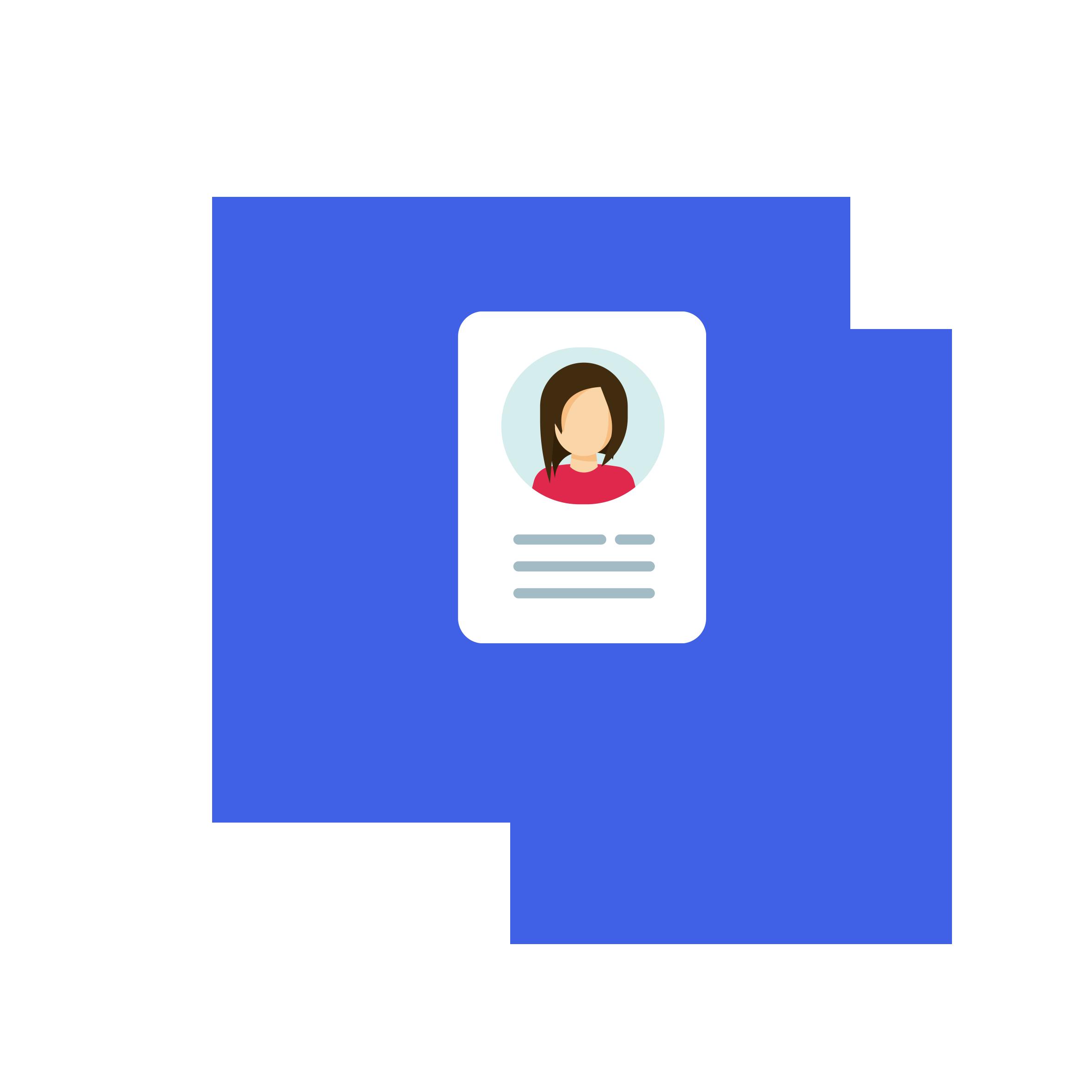 ikon som viser en brukerprofil